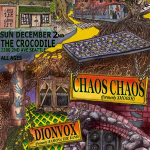 Ramona Freeborn: DIONVOX Electrified The Crocodile