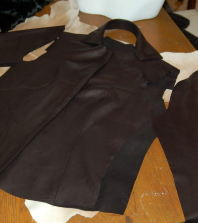 Leather Required: Studio Visit with Carole McClellan