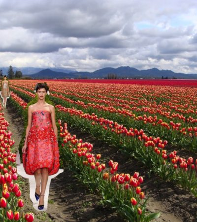 Spring Flowers Bring Spring Fashion