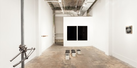 Photograph of the Based show at Punch Gallery courtesy of Nathaniel Wilson Photography