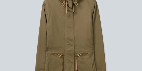 Babaton Scott Coat made with water repellent strech sateen from Japan
