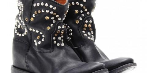Isabel Marant Caleen Embellished Leather Boots