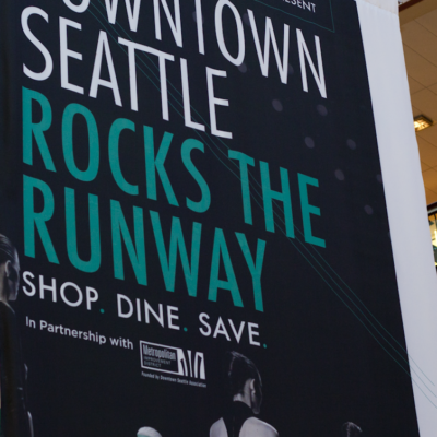 Downtown Seattle Rocks The Runway—Sort Of