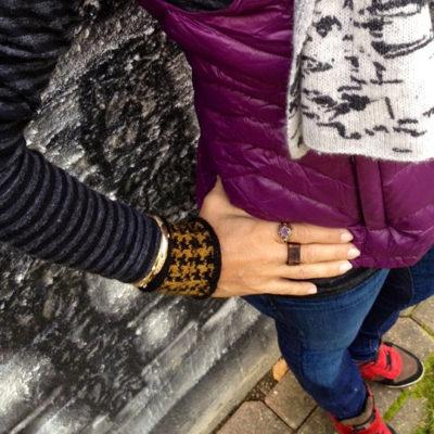 Alpaca and Merino Wool Cuffs