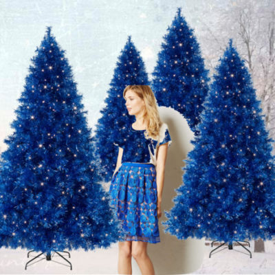 Vogue a Trois: Blue Christmas