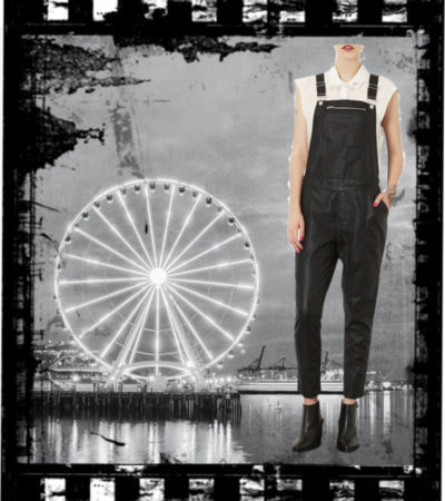 Vogue a Trois: Overall Chic