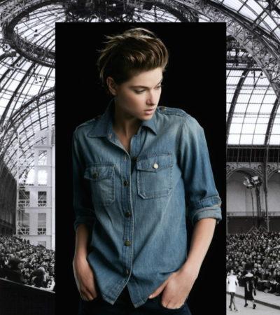 Vogue a Trois: Blue Jean Baby
