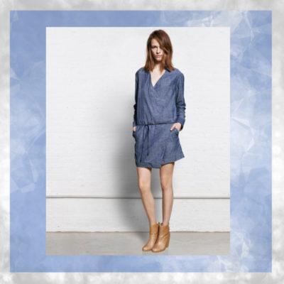 Vogue a Trois: Blue Collar