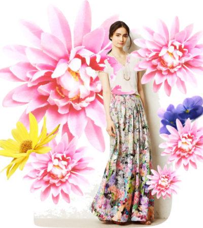 Vogue a Trois: Fleurs de Printemps
