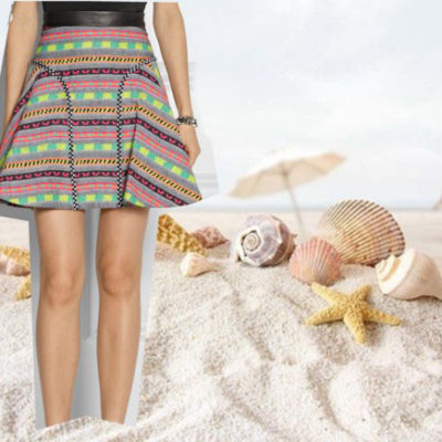 Vogue a Trois: Down By The Sea