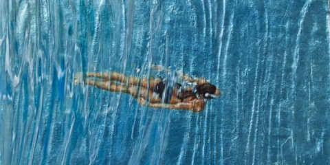 """""""Staying Beneath It All."""" Image courtesy of Eric Zener and Foster/White Gallery."""