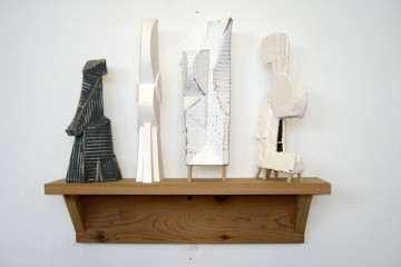 Four sculpturettes by Whiting Tennis