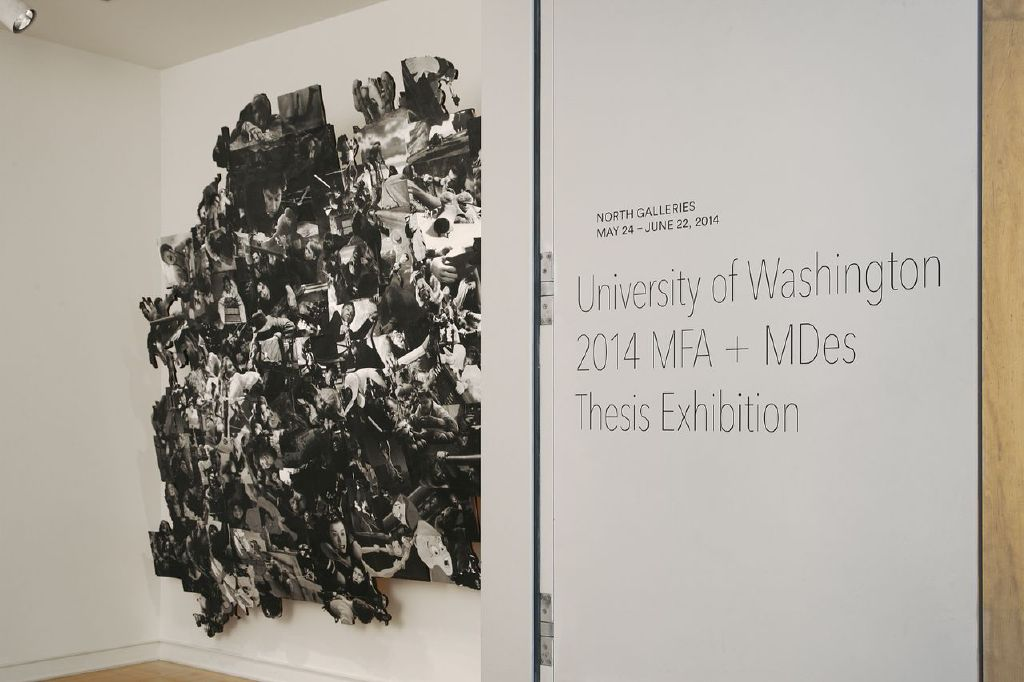 A peek at the now closed MFA and MDes Exhibition. Image courtesy of The Henry Art Gallery