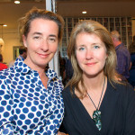 "Åsa Sandlund and Lisa Liedgren at the ""Transforming Tradition"" salon"