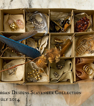 "Joanna Morgan Designs Introduces ""Scavenger Collection"" in July 2014"