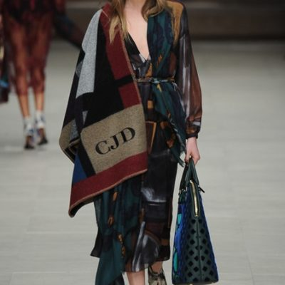 The Look: Three Fall Ponchos, Burberry and More