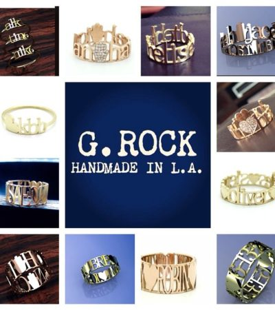 G.Rock L.A. Creates Modern Personalized Jewelry