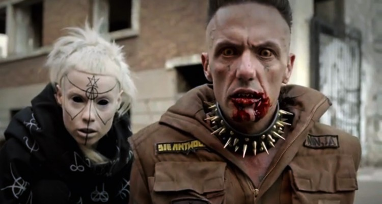 Die Antwoord Before Die Antwoord Die Antwoord Paints The Town 39