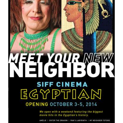"Reopening of the Egyptian Theater with ""Kagemusha"""