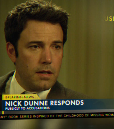"""Gone Girl"" starring Ben Affleck and Rosamund Pike"