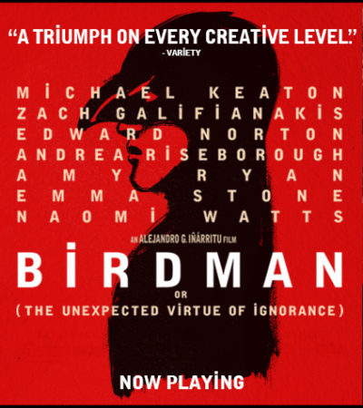 "Now Showing: ""Birdman"" with Michael Keaton"