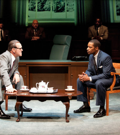 "Political Arena's Riveting Theatre: Seattle Rep Presents ""All The Way"""