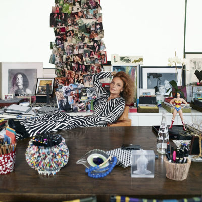 Diane von Fürstenberg at The Bellevue Collection