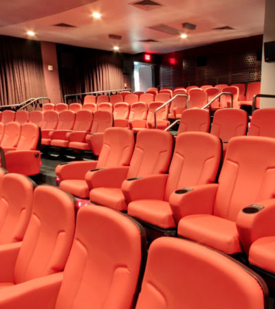 The Newly Renovated Cinerama features the Hunger Games