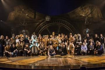 The cast of Kurios by Cirque do Soleil