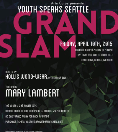 Young Poets Pack a Punch at Seattle Grand Slam