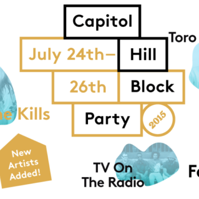 Get Out! Capitol Hill Block Party 2015: July 24 – 26