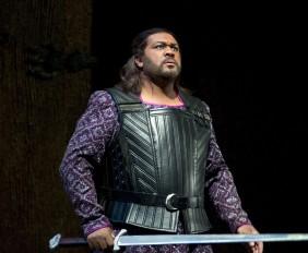 Bass-baritone Gordon Hawkins, to play Nabucco. Photo by Rozarii Lynch.