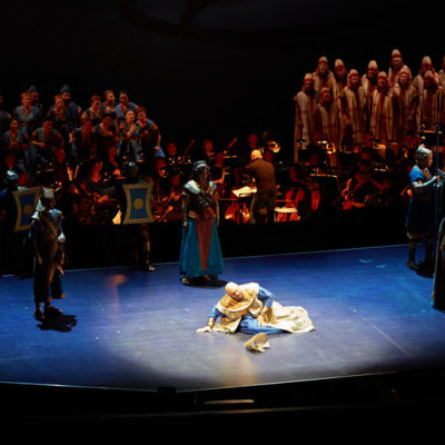 "Opera and Drama: Seattle Opera Delivers Half in ""Nabucco"""