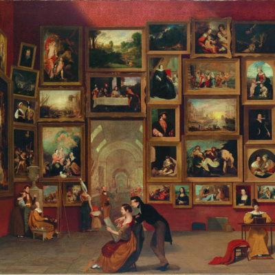 "SAM Presents Morse's Monumental ""Gallery of the Louvre"": September 16"