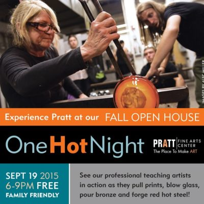One Hot Night at Pratt Fine Arts Center: September 19, 2015