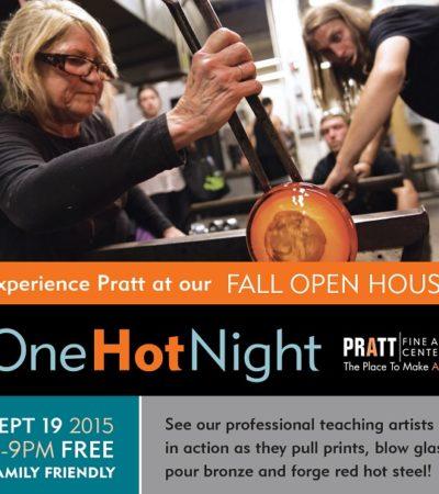 One Hot Night at Pratt Fine Arts Center: September 19, 2015