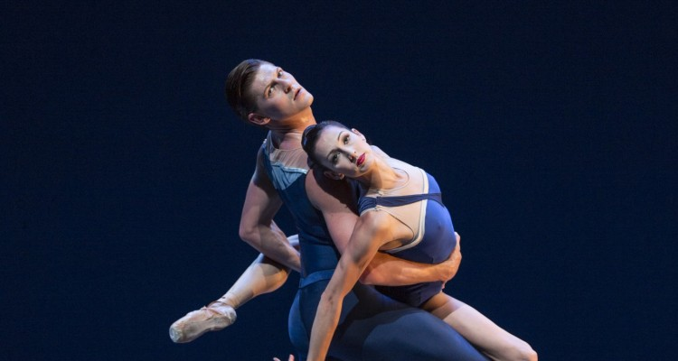 Joshua Grant & Maria Chapman in Tide Harmonic, PNB's SEE THE MUSIC. Photo by Angela Sterling.