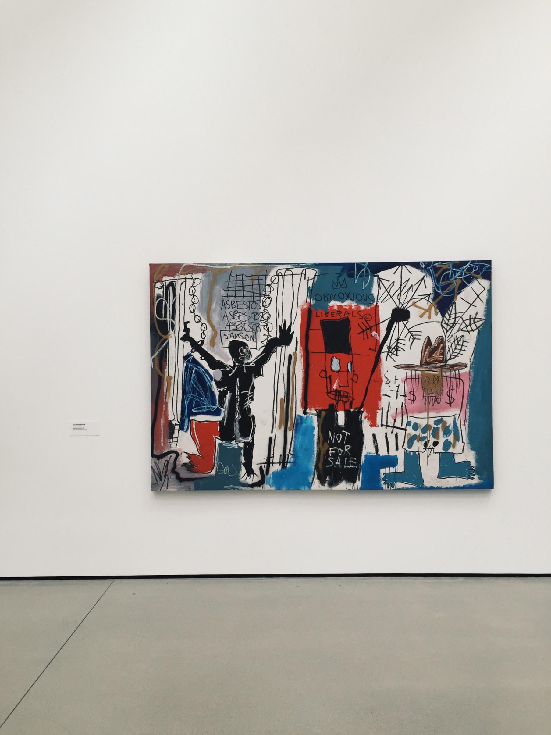 Obnoxious Liberals--Jean-Michel Basquiat