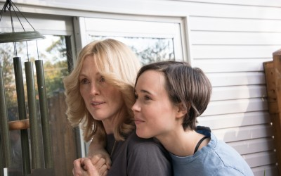 Julianne Moore and Ellen Page in Freeheld