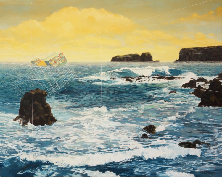 """Huelo Point"" by Mary Iverson at G. Gibson Gallery"