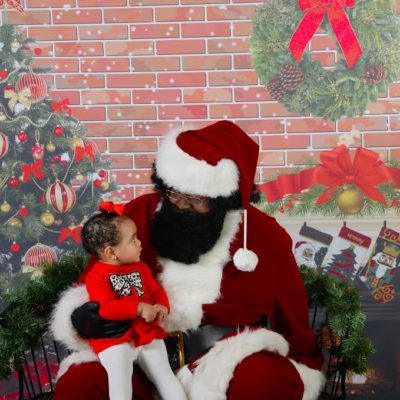 Bigger Than Santa: Pics With Black Santa 2015