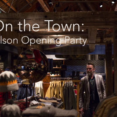On The Town: Filson Grand Opening Party