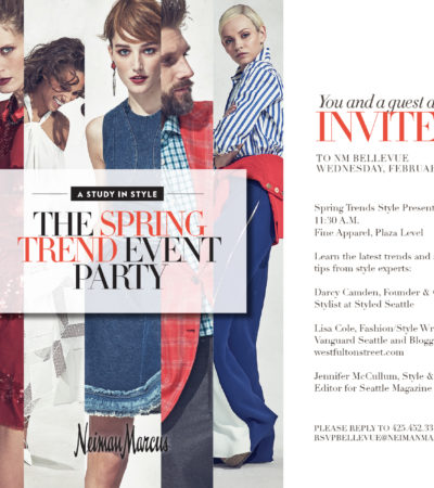 Neiman Marcus Spring Trend Show, Feb. 10
