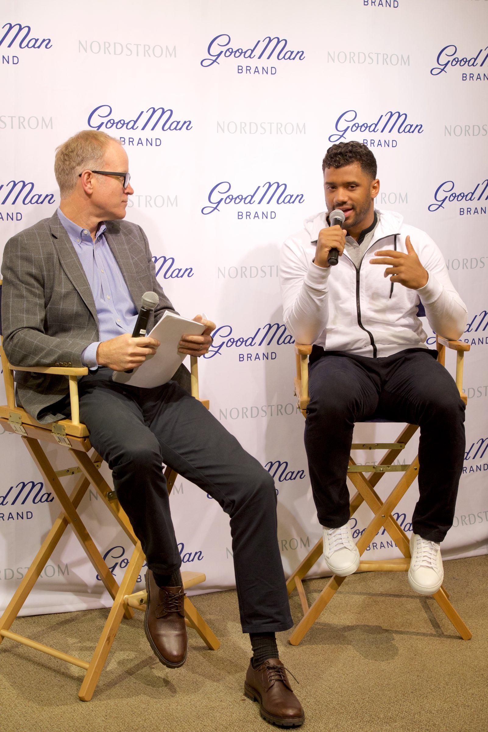 Good Man Brand Nordstrom Launch with Russell Wilson