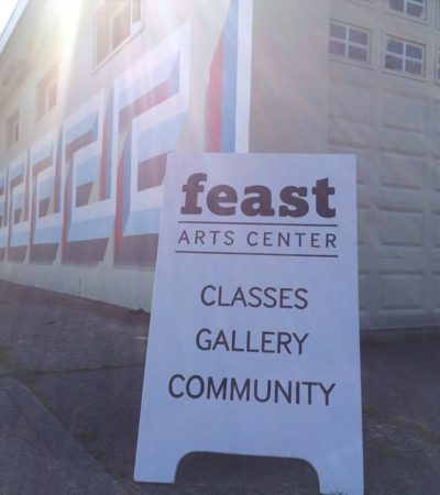 Pop-Up Art Studio with Artist Trust at Tacoma's Feast Art Center, Feb. 18