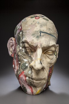 "Cappy Thompson and Dick Weiss, ""Shaman,"" 2015. Image courtesy of Traver Gallery."