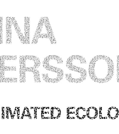 Lina Persson Animated Ecology at INCA, March 25