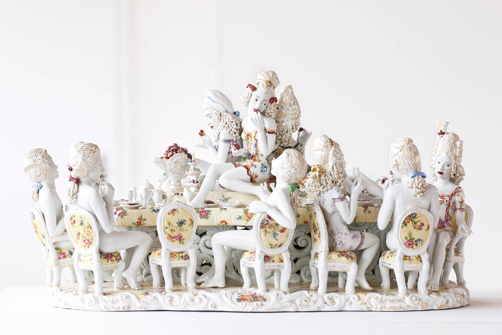 Meissen Couture chris antemann s forbidden fruit is ripe with questions