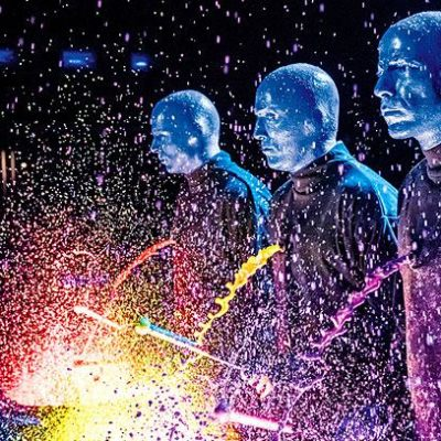Blue Man Group at The Paramount, March 31-April 3