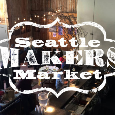 Seattle Makers Market in Greenlake, April 24